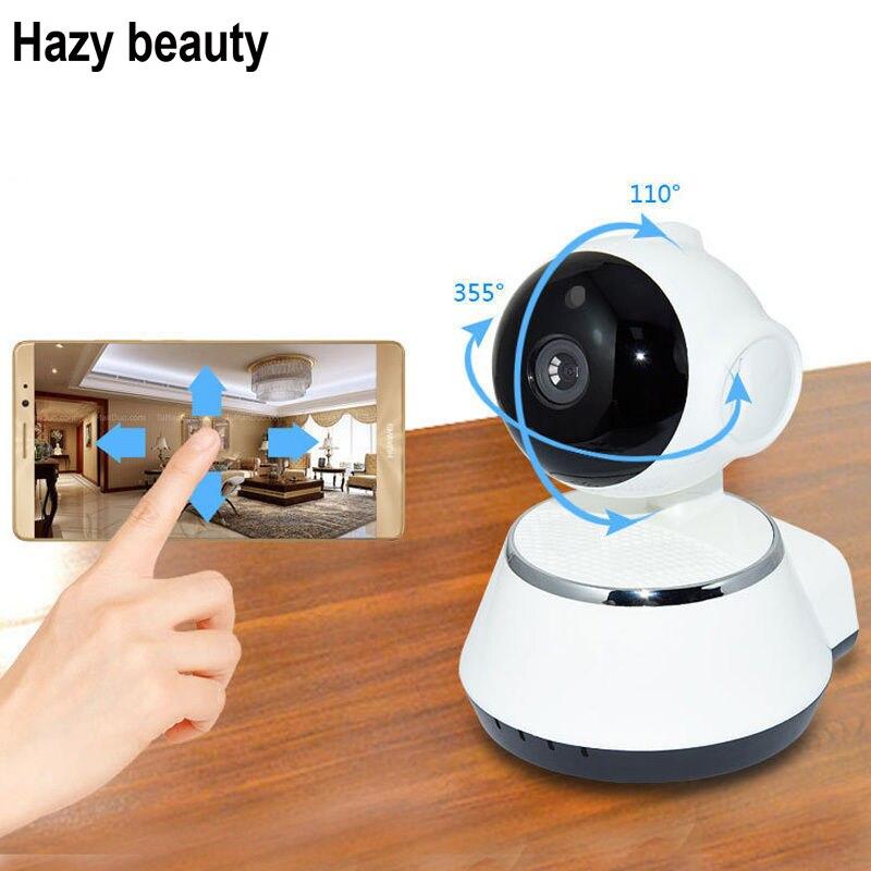 Hazy beauty Security IP Camera WiFi Camera Video Surveillance Camera 720P Night Vision Motion Detection  Camera Baby Monitor<br>