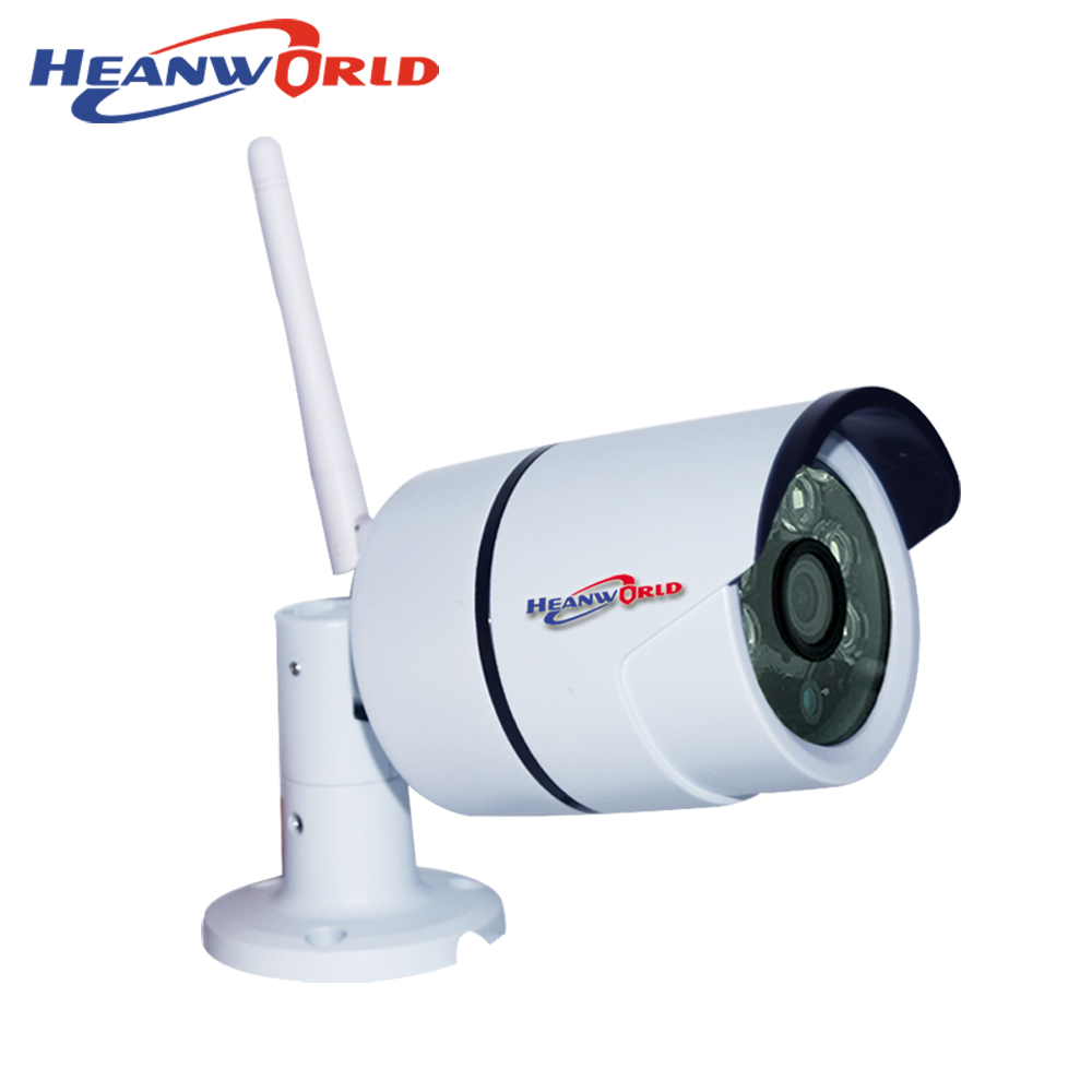 IP Camera Wi-Fi Wireless Outdoor 720P SD Card Waterproof IP66 Smart WiFi Camera Home CCTV Video Camera Motion Sensor Cameras<br>