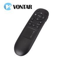 2.4G Wireless RF Remote Control Laser Presenter Pointer air mouse for PPT Multifunctional PowerPoint with Touchpad PC Laptop