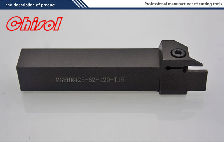 hot selling cnc cutting tools Grooving tool holder MGFHR425-62-120-T15 for  carbide inserts MGMN400-M<br>
