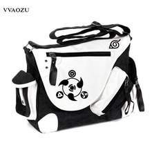 New Fashion Hot Sale Naruto Printing Vintage Women Men Messenger Bags Canvas Business Shoulder Bag Students Travel Bags