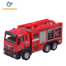 LeadingStar 1:55 Push Go Friction Powered Alloy ABS Metal Car Model Construction Trucks Toy Diecast Vehicle for Kids Gifts zk30(China)