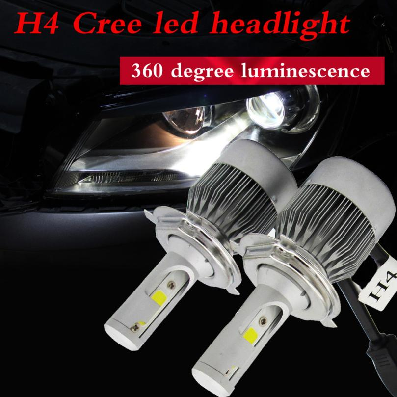 HOT SALE Car styling H4 110W 20000LM LED Headlight Conversion Kit Car Beam Bulb Driving Lamp 6000K just for you Vicky<br><br>Aliexpress