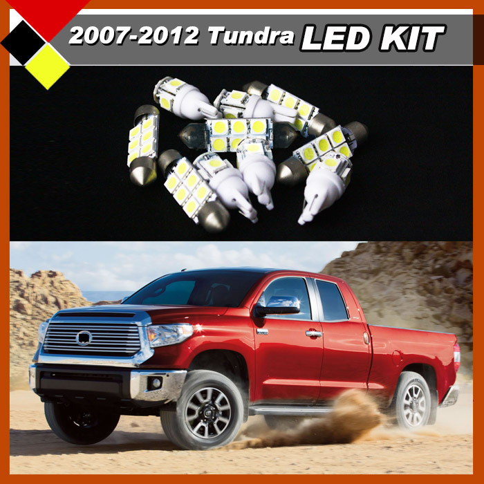 Car Truck Interior Package Lights LED Kit White 12V Bulbs High Power Suit 2007-2012 Tundra Easy Insulation Free Postage !<br><br>Aliexpress