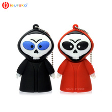 Hot selling Usb Stick, Halloween gift, usb Flash drive pendrive Grim Reaper USB 2.0 8gb 16gb 32gb 64gb usb memory stick U disk