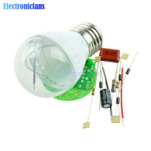 Free Shipping! 1Set Energy-Saving 38 LEDs Lamps DIY Kits Electronic Suite High Quality
