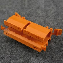 10pcs/lot,WAGO 222-500 Wire Wiring Connect Connector 222 series universal terminal distribution box rail bracket