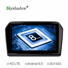 "C500+ 9"" Android 6.0 2GB RAM Car DVD player GPS map WIFI 4G LTE Bluetooth Radio OBD2 DVR Camera TPMS TV For VW Jetta 2013-2017(China)"