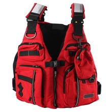 Detachable Adult Life Jacket Waterproof Fishing Vest With EPE Foam Sailing Surfing Kayak Boat Fishing Tackle Vest With Pockets(China)