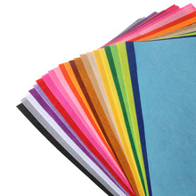 40 Pcs\lot 30x30 cm Polyester Felt Fabric Cloth DIY Handmade Sewing Home Decor Material Thickness 1mm 40 Mix Color 11.8x11.8inch