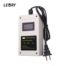 LEORY US/EU Plug Electricity Power Energy Saver Digital Display Save 30% Smart Home Energy Saver 50KW 90V-265V LED Saving Box