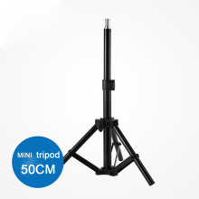 "Photographic equipment 50cm 20"" Aluminum alloy mini Light Stand tripod for lighting support lamp system"