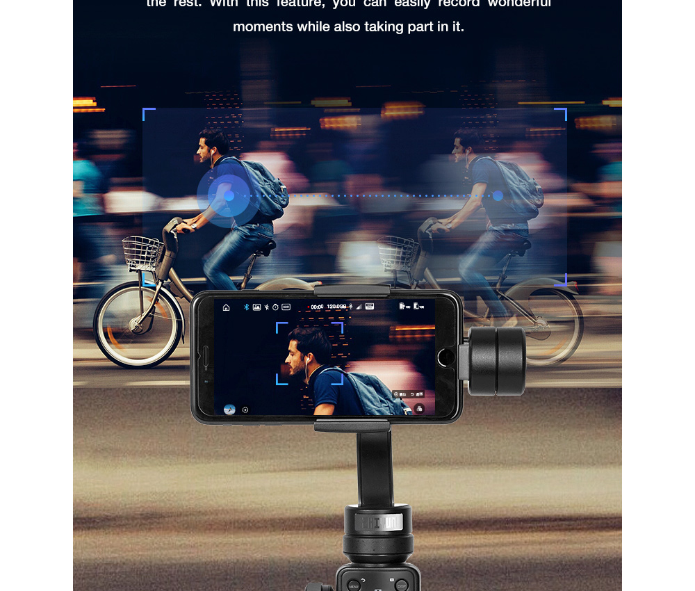 ZHIYUN Official Smooth 4 3-Axis Handheld Smartphone Gimbal Stabilizer VS Smooth Q Model for iPhone X 8Plus 8 7 6S Samsung S9S8S7 15