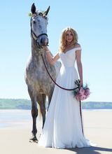 Bridal Wedding Dress White Summer Style Hot Sale Sweetangel Romantic Robe De Mariage Backless Beach Bride Aramex Gowns