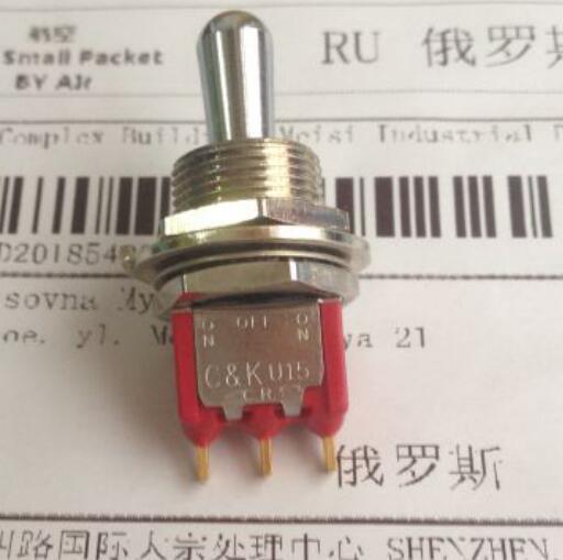 1PCS 12MM double toggle switch is reset   U15T1PZJ8E 7015  U15<br>