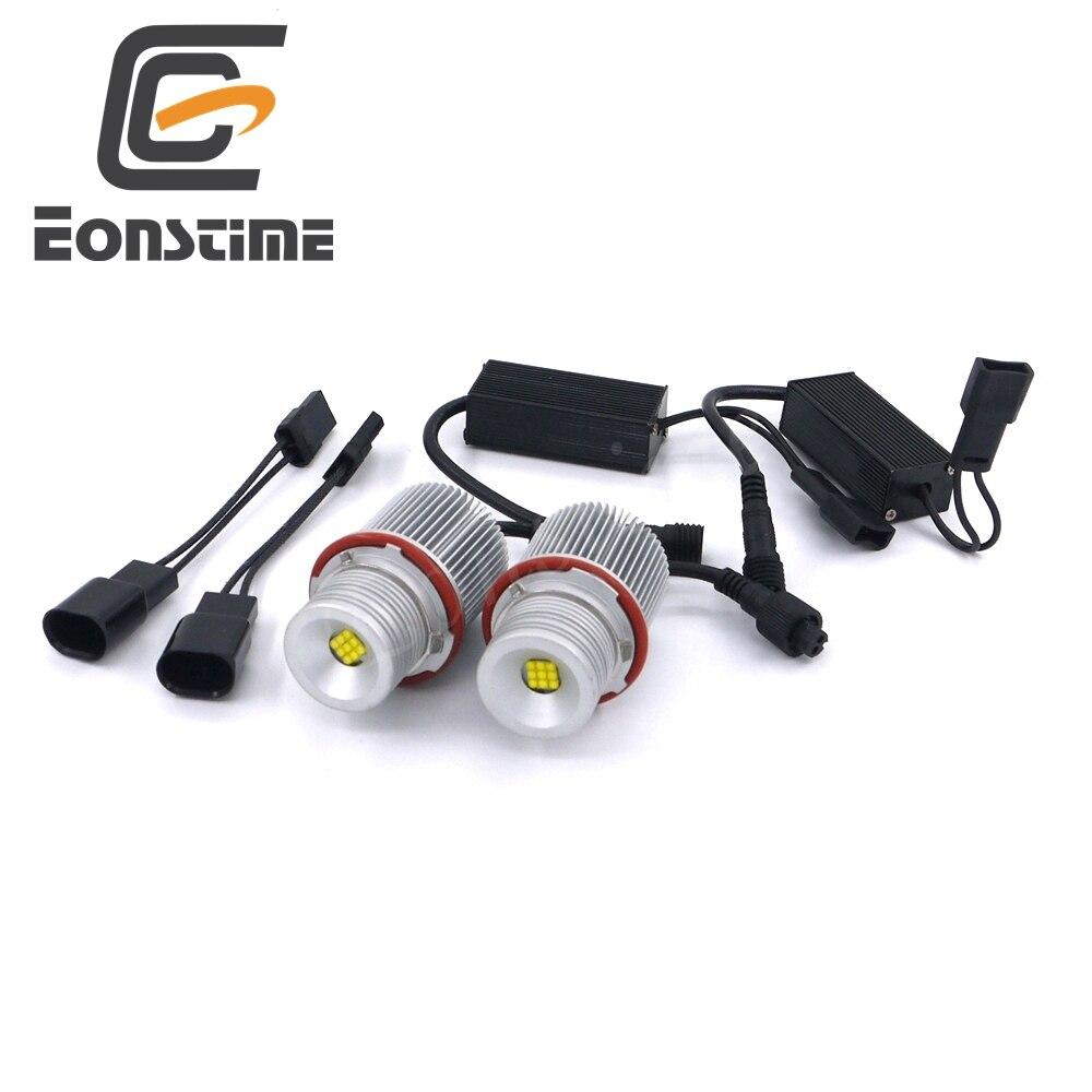 Eonstime Error Free 2X27W XBD 9LED Angel Eyes LED Marker Light Bulbs For BMW E39, E60,E61,E63,E83,X3,X5 E87 525i M5 525i E53 E66<br>
