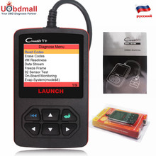 Original LAUNCH Scanner X431 Creader V+ OBD2 Colorful Screen Multi-Language LAUNCH CR V Plus Diagnostic Tool Better Than ELM327