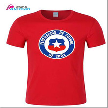 Chilean CHL Chile national footballer team  shirt men shirt jerseys FA brand clothing shirts streetwear summer ZQ-11
