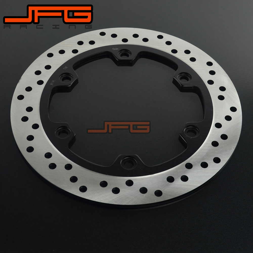 260MM Rear Brake Disc Rotor for Suzuki GSX 1300 GSXR1300 Hayabusa 2008 2009 2010 2011 2012 2013 GSXR1300BK B-King 08-12<br>