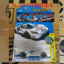 New Arrivals 2017 Hot Wheels 2016 FORD GT RACE Metal Diecast Cars Collection Kids Toys Vehicle For Children