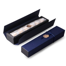22.5*4*3.5CM deep sapphire blue 10 set Chocolate Paper Box valentine's day Christmas Birthday Party Gifts Packing use