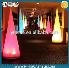 color changing inflatable pillar for wedding