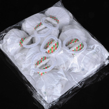 football Spider Silk  white (cup style 10 pieces pack 30 strands),Magic Trick,stage magic props,fun magic 400magic