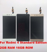 Touch Screen Glass And LCD Display Digitizer Assembly For Redmi 4 Standard Edition 2GB RAM 16GB ROM SmartPhone Normal Version!