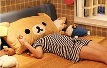 super! 60cm bedding cushion and pillow easily detachable big bear plush toys Kids Girlfriend Christmas Gift