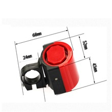MTB Road Bicycle Bike Electronic Bell Loud Horn Holder Whalesale Cycling Hooter Siren High Quality