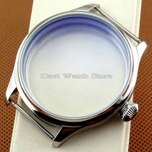 44mm Parnis Sterile Steel Case watch Fit 6497/6498 Seagull ST36 Movement mens watches