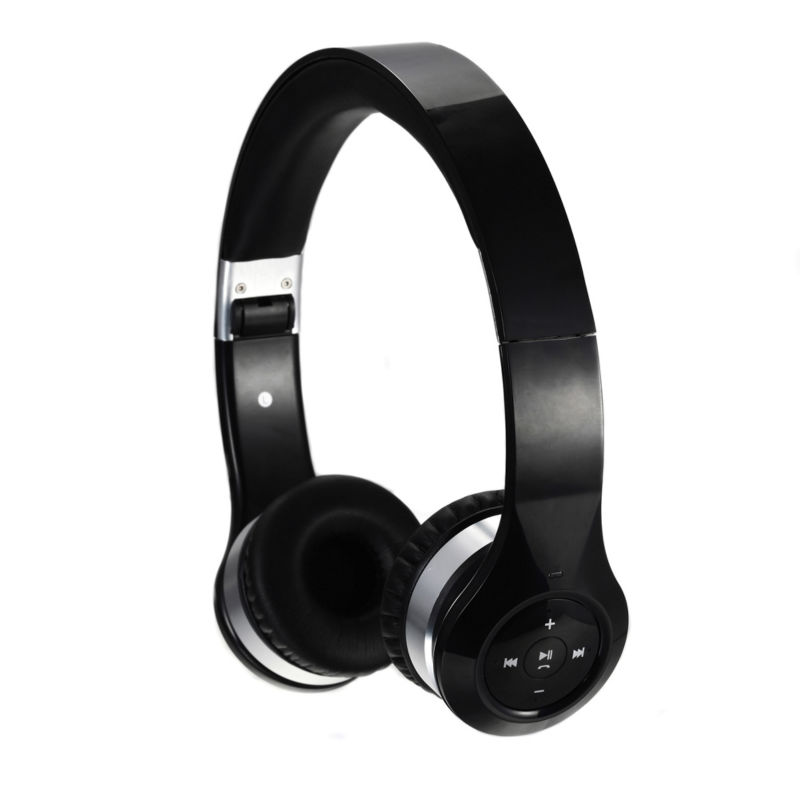HUHD HB-328 Foldable Bluetooth Heavy Bass Headphone with Built-in Microphone for Tablets Smart phones and music streaming<br>