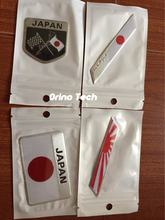 Metal Japanese Flag Emblem Badge JAPAN Car Sticker Decal For Toyoto Honda Nissan Mazda Lexus Mitsubishi Infiniti SUBARU Suzuki
