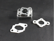 alloy carburetor block/manifold for rc gas buggy boat