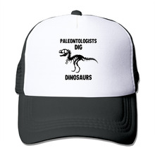 DUTRODU Unisex Baseball-caps Meshback Paleontologists Dig Dinosaurs Hat Caps hip hop hat vary colors high quality(China)