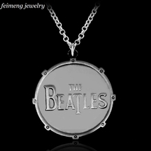 The Rolling Stones film the beatles necklace elders rock band the beatles ancient silver pendant jewelry