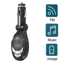 Car Kit Wireless FM Transmitter Radio Adapter FM Modulator Handsfree Music Mp3 USB/SD/TF Player Audio For Smartphone