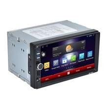RK-7721A Professional 7 Inch HD 1024*600 Capacitive Screen 7 Colorful Lights Function Car DVD with America Map