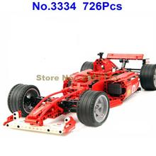 Decool 3334 726pcs Formula Series Transport 1:10 F1 Racing Car Building Block Brick Toy