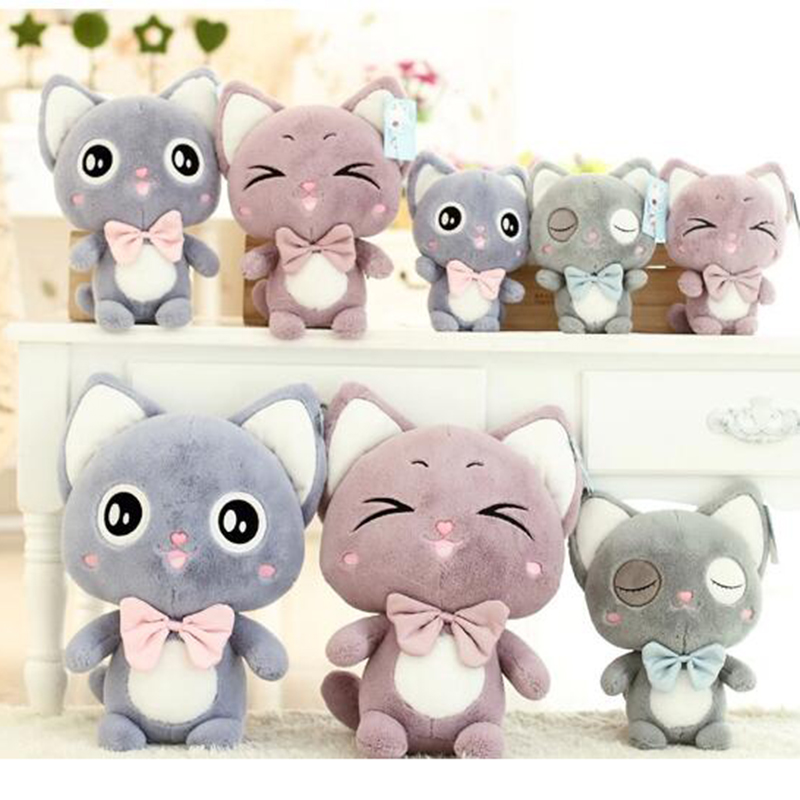 20cm 2 color cute doll honey odd cat doll plush toys childrens toy doll birthday gift  holiday gift<br><br>Aliexpress