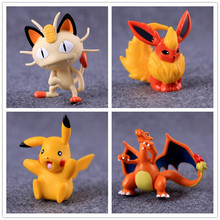20Styles Pokeball Figure Pikachu Meowth Anime Action Figure Toys Collection Dolls