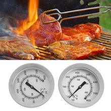 1 Pair -50~800F Stainless Steel Food Thermometer BBQ Meat Dial Temperature Test Gauge Kitchen Cooking Microwave Oven Tools(China)