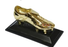 2014 World Soccer Cup Football Golden Boot Shoe Trophy Replica The Golden Boot Award football shoes
