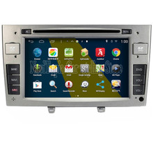 NaviTopia Brand New 7inch Quad Core 16GB 1024*600 Android Car PC for Peugeot 408 Car DVD Multimedia Player(China)