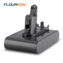 FLOUREON 22.2V 2000mAh ( Only Fit Type B ) Battery for Dyson DC31 DC35 DC44 DC45 Series Cordless Vacuum Cleaner Li-ion(China)