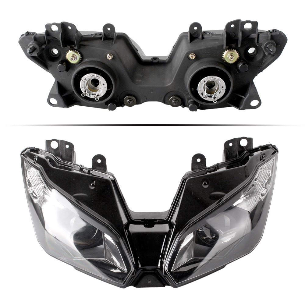 Headlight Headlamp For Kawasaki Ninja ZX6R 2013 2014 Head light Lamp