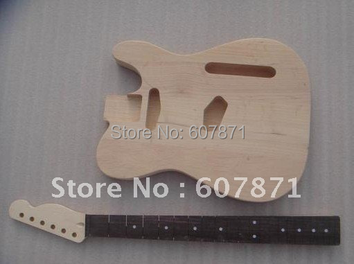 high quality Unfinished electric guitar body with neck<br><br>Aliexpress