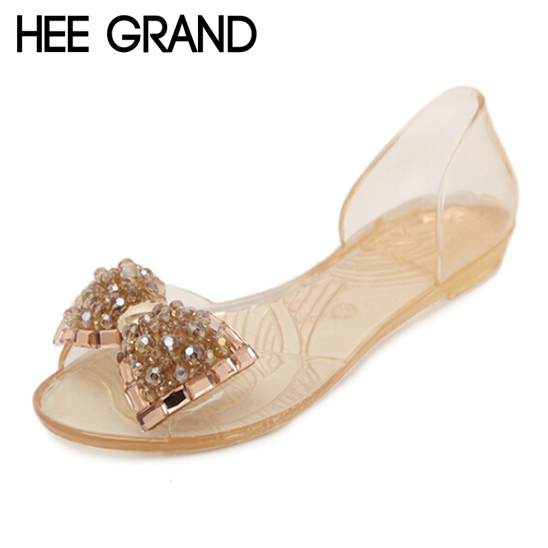 HEE GRAND Rhinestone Women Beach Sandals Summer Women Flats 2017 Beach Shoes for Women Peep-Toe Sandals Drop Shipping<br><br>Aliexpress