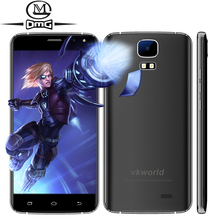 "Original Vkworld S3 MT6580A Quad Core mobile Phone Android 7.0 5.5"" HD 2800mAh battery 8GB ROM 8MP Dual sim Flash GPS Telephones(China)"