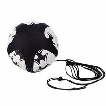 New 1PC Football Training Elastic Rope Soccer Training Band Kid Black Soccer Training Belt(China)